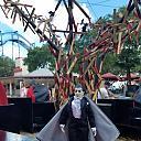 Mego Dracula vists Seaworld TX Halloween