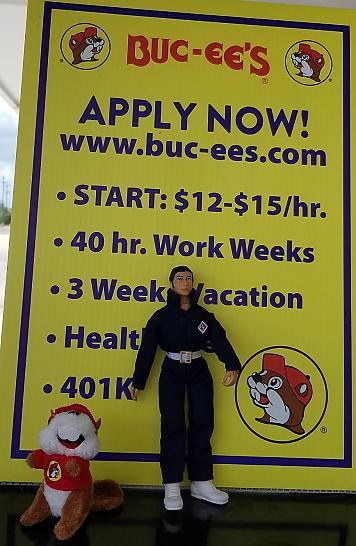 Roaming AJ: visiting Bucees