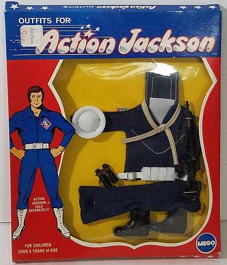 new Action Jackson in original Navy outfit