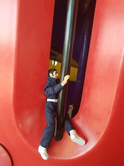 Action Jackson discovering McDonald's playground pt 2