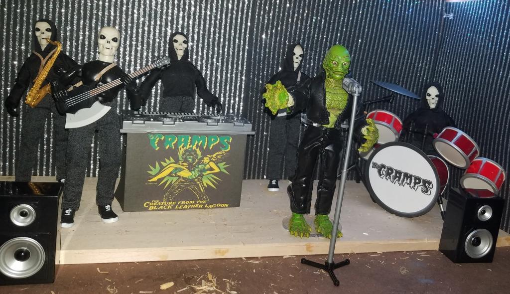 The Cramps tour: Creature From The Black Leather Lagoon