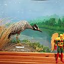 Hawkman at Brazosport Museum Of Natural Science