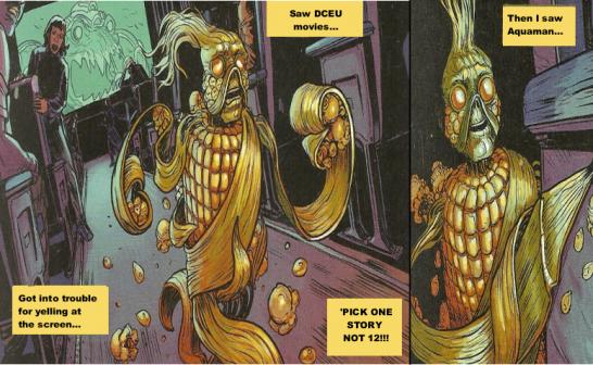 Popcorn Swamp Thing