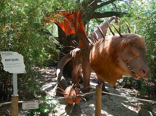 TXU Energy Presents Dragons at the Houston Zoo 11 Manticore