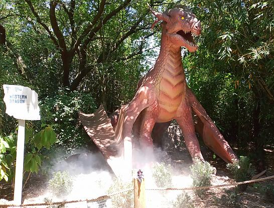 TXU Energy Presents Dragons at the Houston Zoo 22 Western Dragon