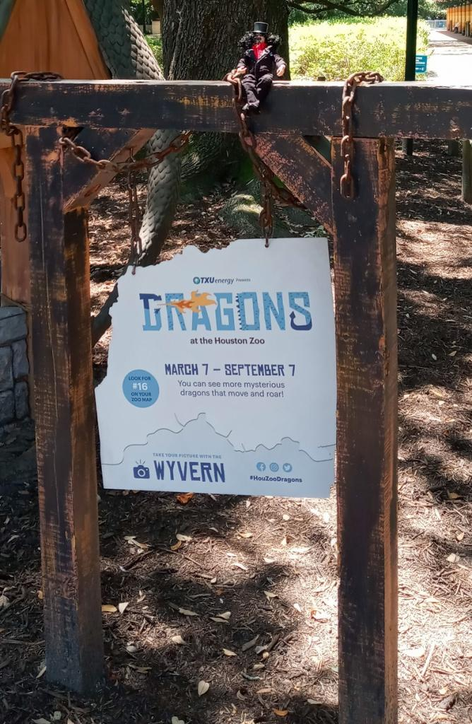 TXU Energy Presents Dragons at the Houston Zoo 25 Wyvern