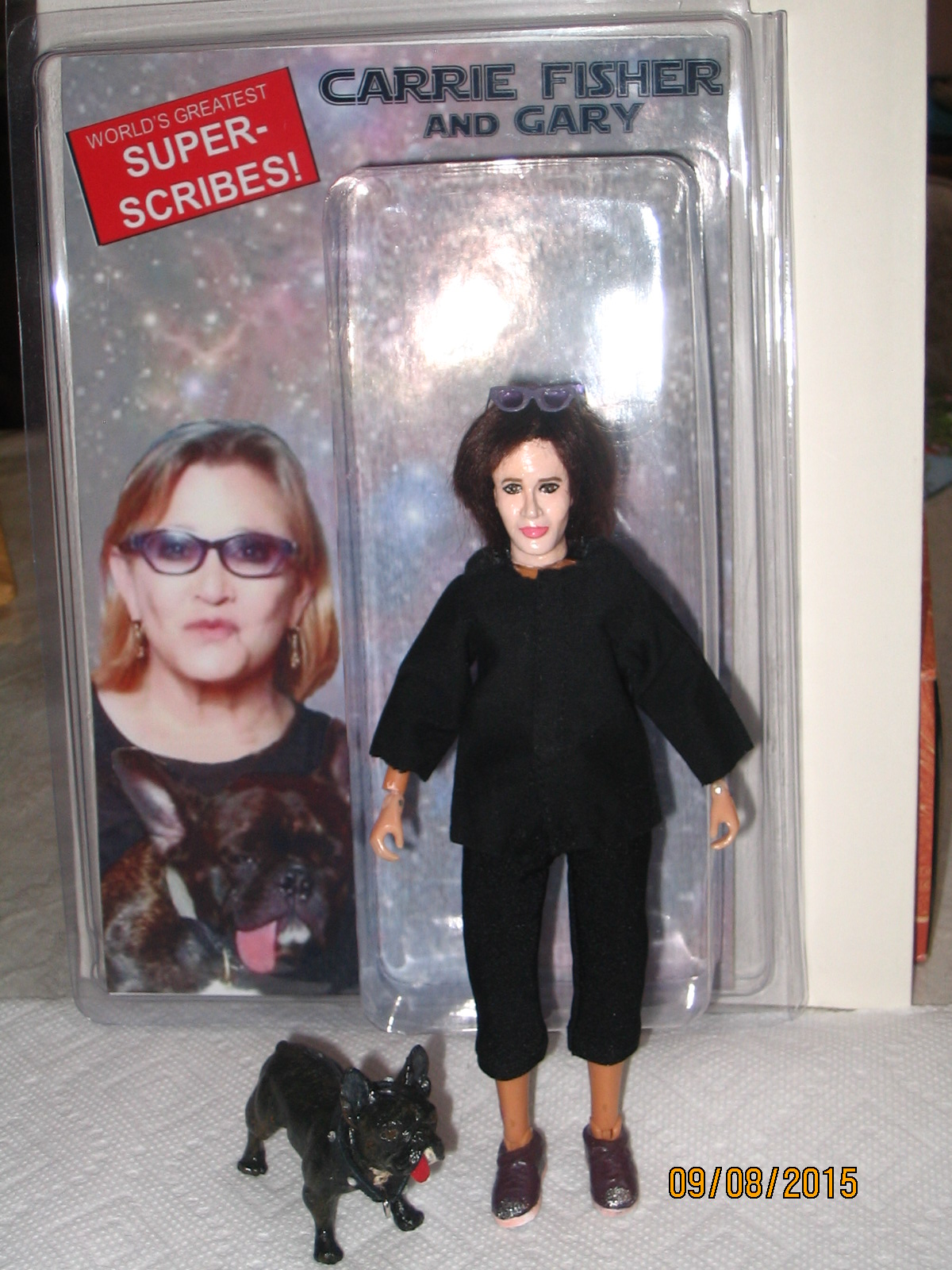 carrie fisher gary version 3.0