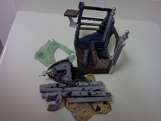McFarlane Monsters parts