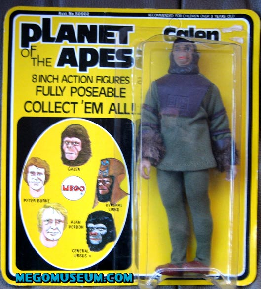 Mego Planet of the Apes Galen