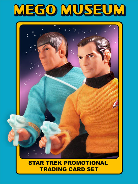 Mego Museum Star Trek Checklist Card Free Exclusive Mego Meet 2007